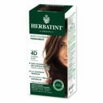 HERBATINT 4D CHATAIN DORE teinture capillaire sans ammoniaque enrichie aux extraits végétaux