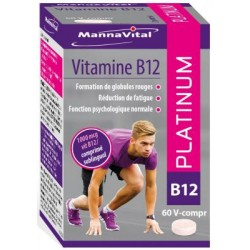 VITAMINE B12 PLATINUM MANNAVITAL