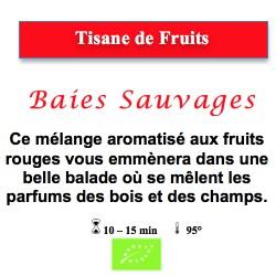 Tisane de Fruits Baies Sauvages
