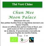 Thé Vert de Chine Chun Mee Moon Palace