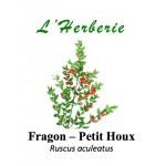 FRAGON RACINE PETIT HOUX COUPE 100GR Ruscus aculeatus