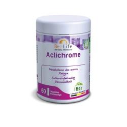 ACTICHROME (60 gélules) synergie de Chrome, carnitine, vit B2 et vit B6 BE LIFE
