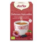 YOGI TEA DEFENSES NATURELLES Bienfaisant, réchauffant, à la vitamine C naturelle.