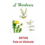 Detox Tisane pour le Foie et la Vésicule Biliaire 100 gr