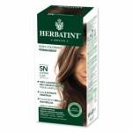 HERBATINT 5N CHATAIN CLAIR   teinture capillaire sans ammoniaque enrichie aux extraits végétaux