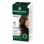 HERBATINT 4C CHATAIN CENDRE teinture capillaire sans ammoniaque enrichie aux extraits végétaux
