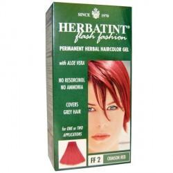 HERBATINT FF2 ROUGE POURPRE teinture capillaire sans ammoniaque enrichie aux extraits végétaux