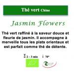 Thé vert de Chine Jasmin Flowers