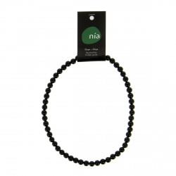 Collier perle 40 cm Onyx  NIA