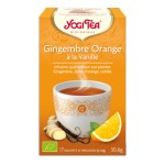 YOGI TEA GINGEMBRE ORANGE  à la vanille