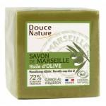 Savon de Marseille bloc vert 600 gr Douce Nature