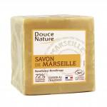 Savon de Marseille bloc Blanc 300 gr Douce Nature
