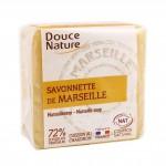 Savon de Marseille bloc Blanc 100 gr Douce Nature