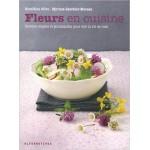 Fleurs en cuisine de Géraldine Olivo
