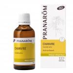 Chanvre cannabis sativa bio  50 ML Pranarôm Huile Végétale