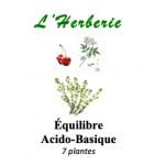 Acido basique Tisane de 7 plantes 100g