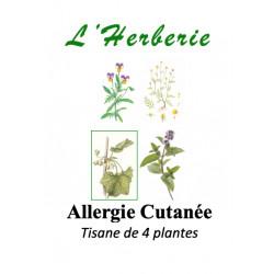 Allergie Cutanée Tisane de 4 plantes 100g