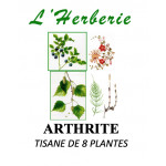 ARTHRITE TISANE DE 8 PLANTES 100gr
