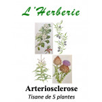 ARTERIOSCLEROSE TISANE DE 5 PLANTES 100g