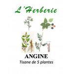 ANGINE Tisane de 5 plantes 100g