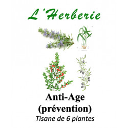 Anti-âge (prévention) Tisane de 6 plantes 100g
