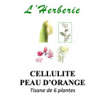 CELLULITE PEAU D'ORANGE TISANE DE 6 PLANTES 100g
