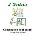 Constipation Tisane pour Enfant 4 plantes 100g