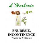 ÉNURÉSIE, INCONTINENCE Tisane de 5 plantes 100g
