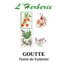 GOUTTE TISANE DE 9 PLANTES 100g