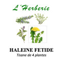 HALEINE FETIDE TISANE DE 4 PLANTES 100g