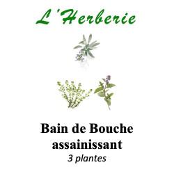 BAIN DE BOUCHE ASSAINISSANT 3 PLANTES 100g