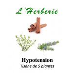 HYPOTENSION MELANGE DE 5 PLANTES 100g