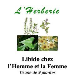 LIBIDO (en chute) MELANGE DE 9 PLANTES 100g