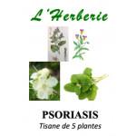 PSORIASIS Tisane de 5 plantes