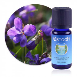 ABSOLUE  Violette, absolue 75% (dans alcool bio) Viola odorata