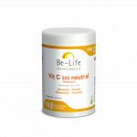 Vitamines C 500 neutral (90 Gélules) Vitamine C Immunité Vitalité BE LIFE