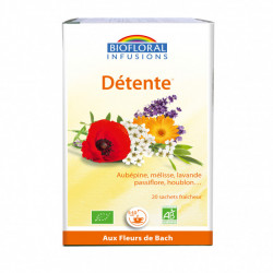 BIOFLORAL INFUSIONS DETENTE 20 SACHETS